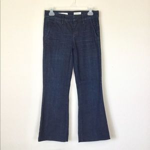 Pilcro and the Letterpress Cropped Flare Jeans 26